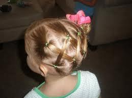 Balowa fryzura dla dziewczynki
