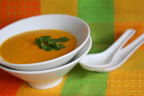 Zupa mandarynkowa dla malucha