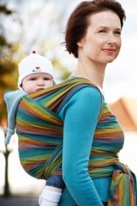 Tkane chusty do noszenia dzieci