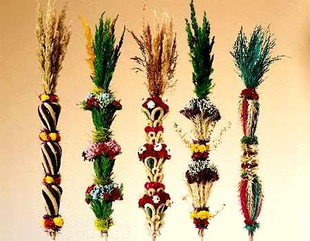 Jak zrobić palmę wielkanocną?